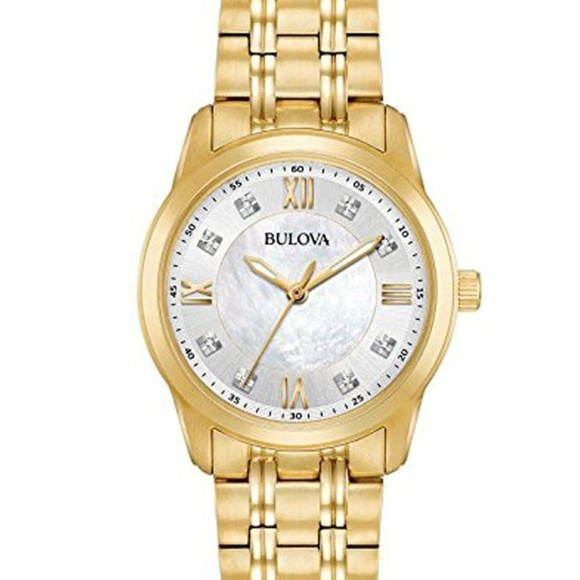 Bulova Accessories - Bulova Women's Diamond Quartz Watch 97P118